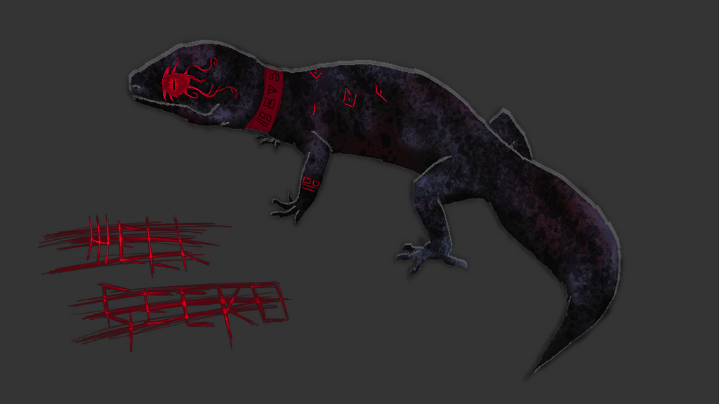 Hell Gecko  by Morgana-Mikaelson