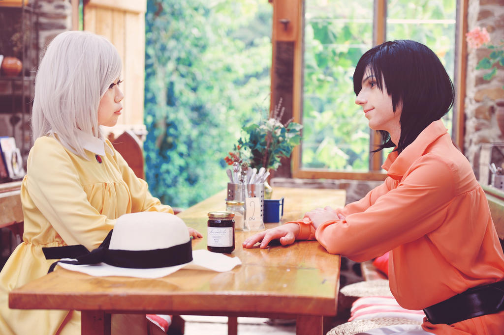 Howl's Moving Castle - A heart for two