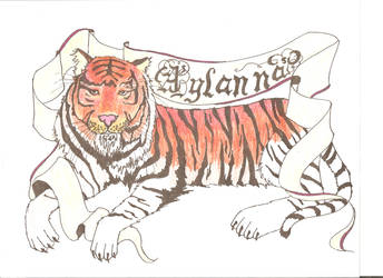 tiger tattoo by D-Avalon