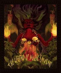 Marie Laveau Poster by D-Avalon