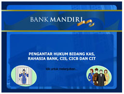 bank mandiri e-learning by diagnosavisual