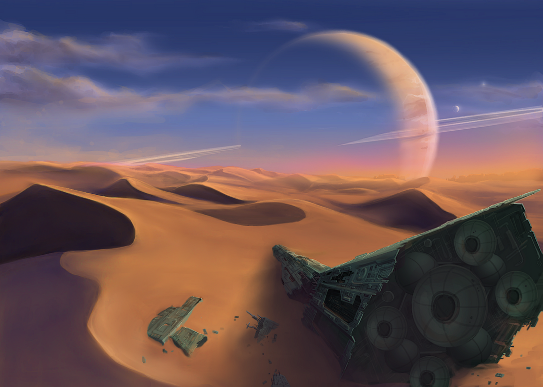 Crashlander by EyeballEarth