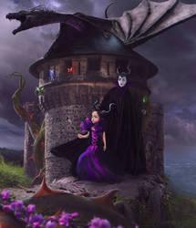 little miss maleficent