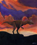 Cryolophosaurus by Gogosardina