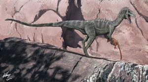 Aussie ceratosaur by Gogosardina
