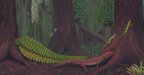 Joggins - Life in the Carboniferous by Gogosardina