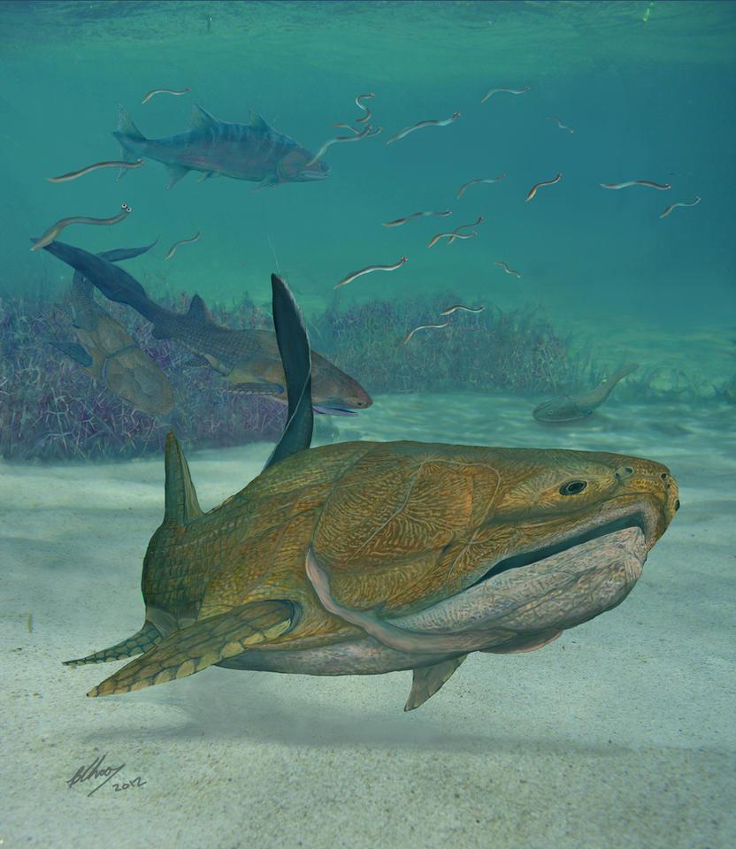 Entelognathus #1: In the Silurian seas of Yunnan by Gogosardina