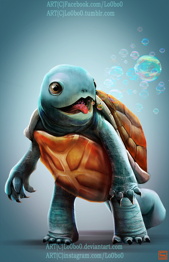 pokemon project 007 Squirtle byLo0bo0 by Lo0bo0 on DeviantArt