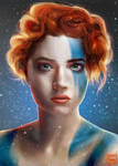 portrait study vikinggirl byLo0b0o