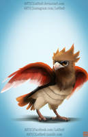 pokemon project 021 Spearow byLo0bo0 by Lo0bo0