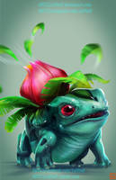 pokemon project 002 Ivysaur by Lo0bo0 by Lo0bo0
