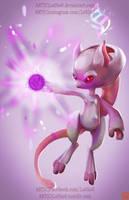 pokemon project 150 MegaMewtwoY byLo0bo0 by Lo0bo0