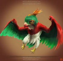 pokemon project 701 Hawlucha by Lo0bo0