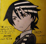 Death the Kid- Soul Eater by Espevoirvee
