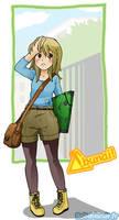 Abunai in coming : Maemi. by Bisc-chan