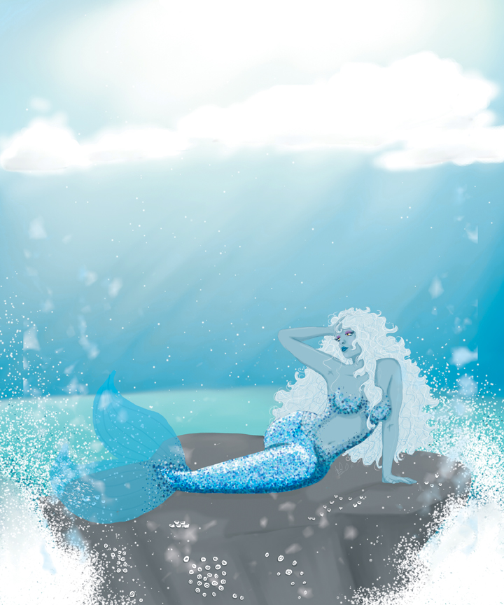 Mermaid Glitter by aprilmdesigns