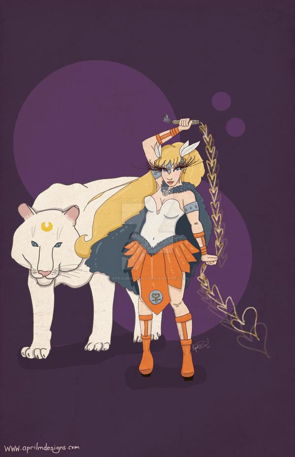 Sailor Venus by aprilmdesigns