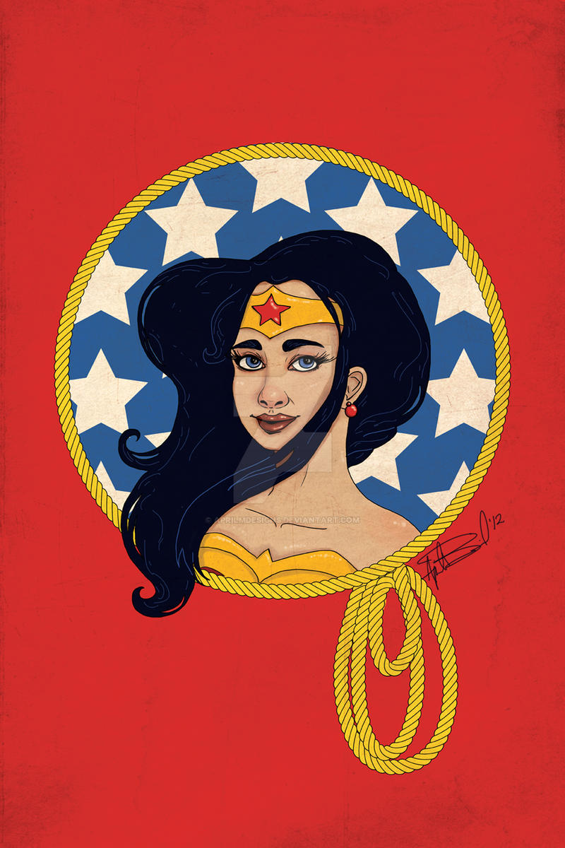 Wonder Woman - Amazon Princess by aprilmdesigns