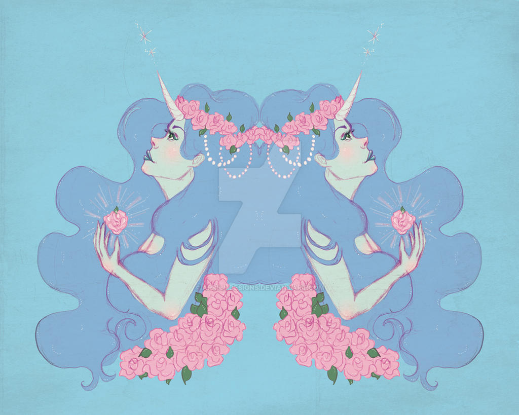 Reflected Dreamer by aprilmdesigns
