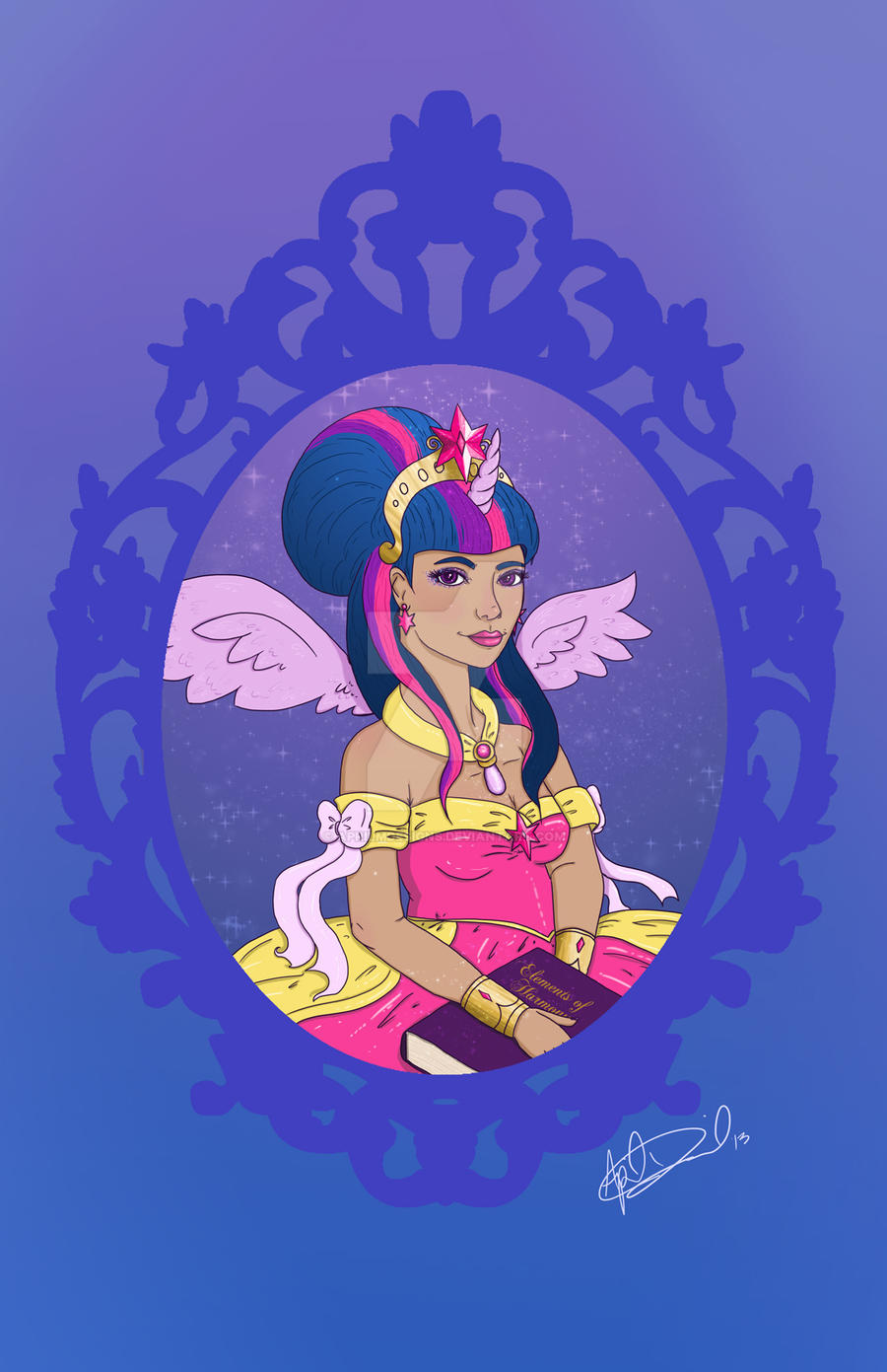 Princess Twilight Sparkle by aprilmdesigns