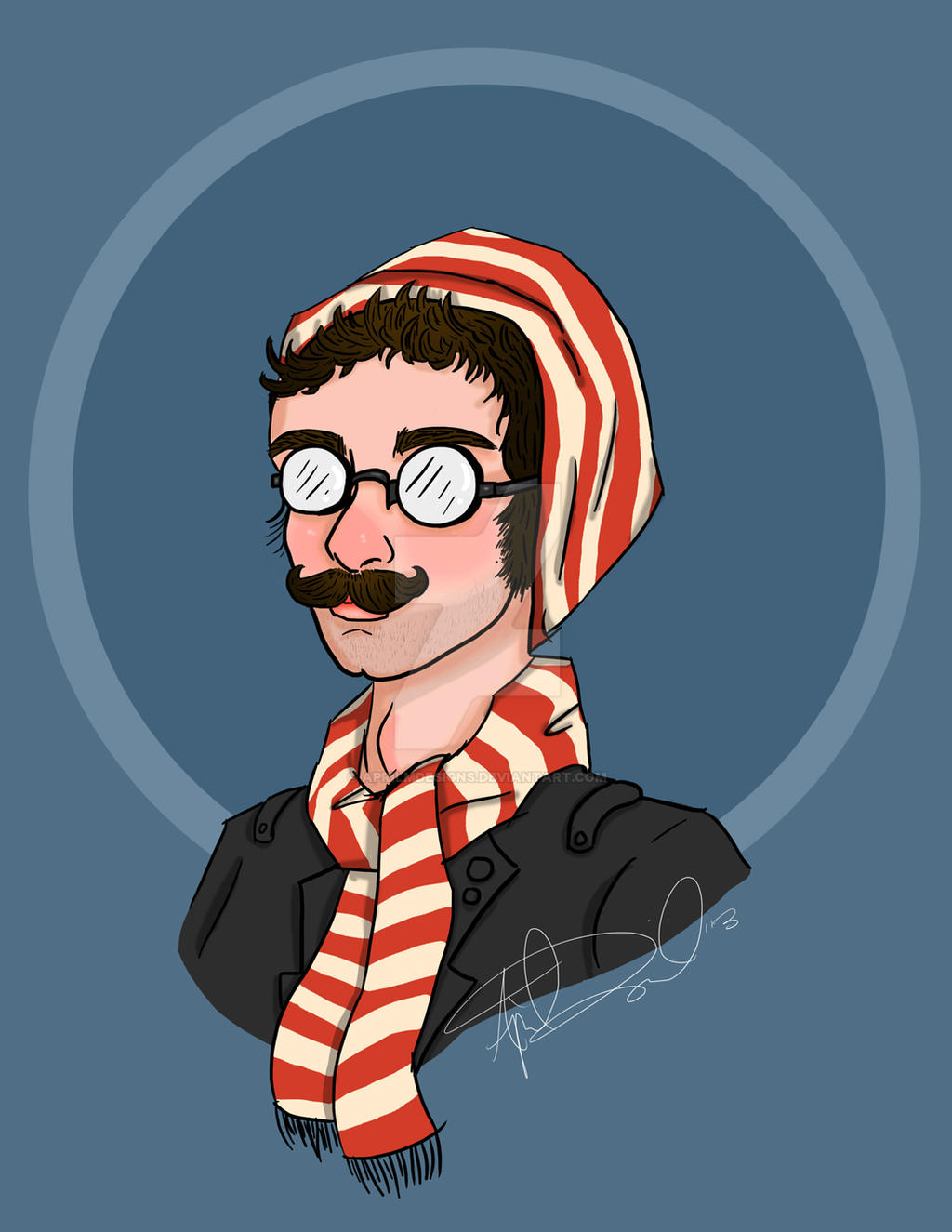 Hipster Waldo by aprilmdesigns