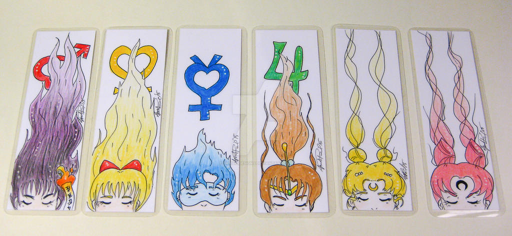 Sailor Moon Bookmarks by aprilmdesigns