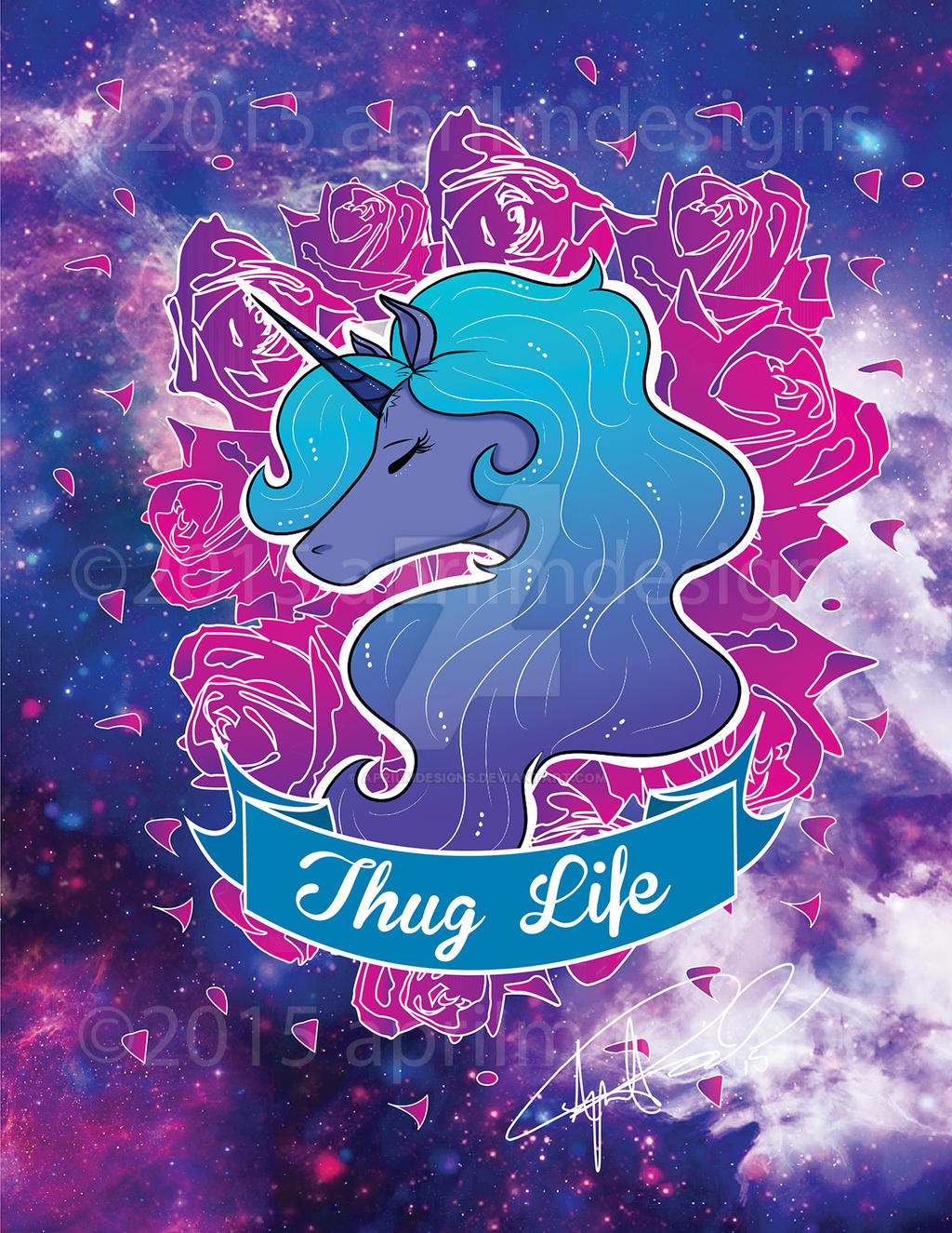 Thug Life by aprilmdesigns