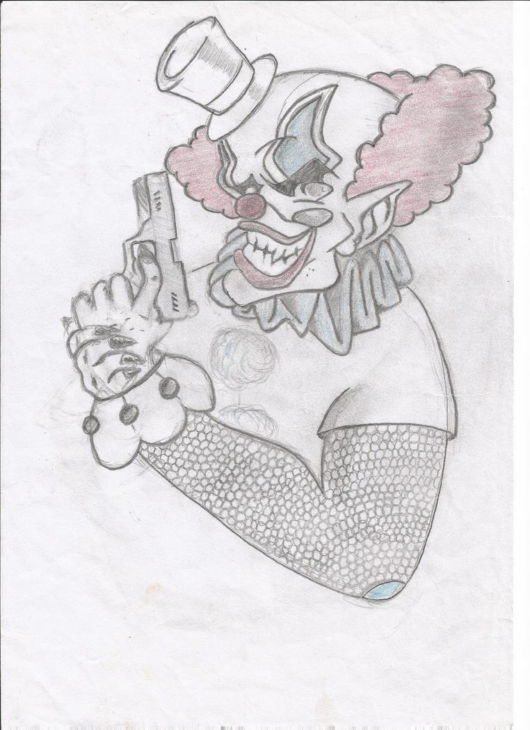 Gangster Clown Drawings ...