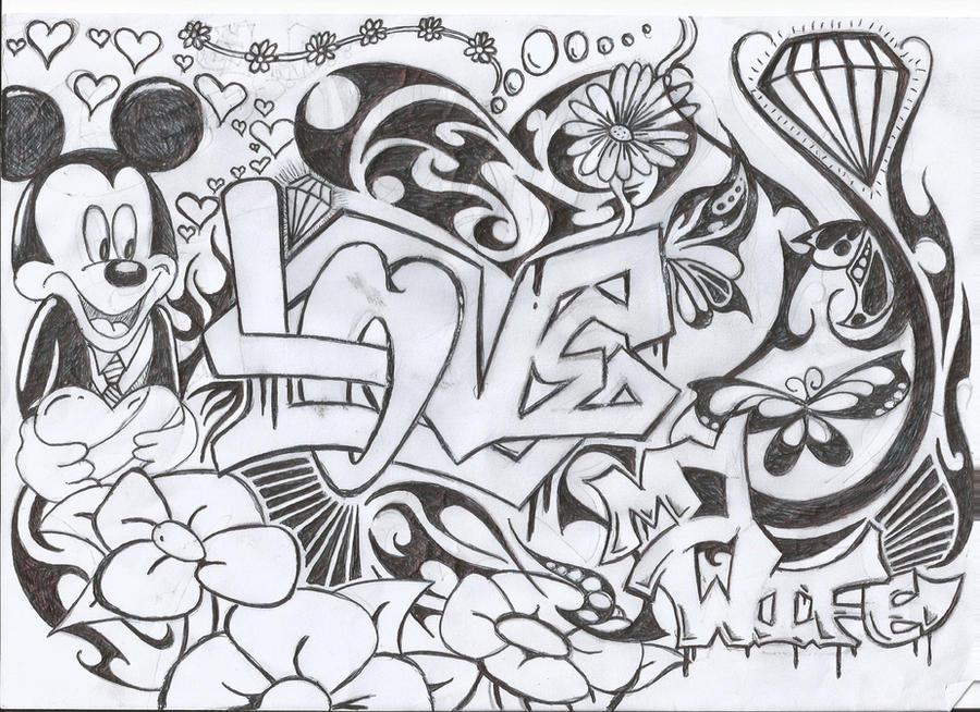 Graffiti I Love You Drawings | quotes.lol-rofl.com: quotes.lol-rofl.com/graffiti-i-love-you-drawings