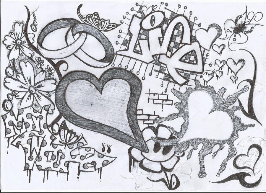 graffiti love my wife2 rings by morgan83 on DeviantArt