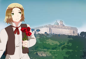 [Request] The Red Poppies on Montecassino by Chantalwut