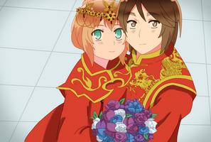 APH - Hongliech wedding by Chantalwut
