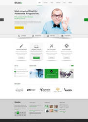 Wealth PSD template