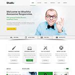 Wealth HTML Responsive Template by tendosk8er