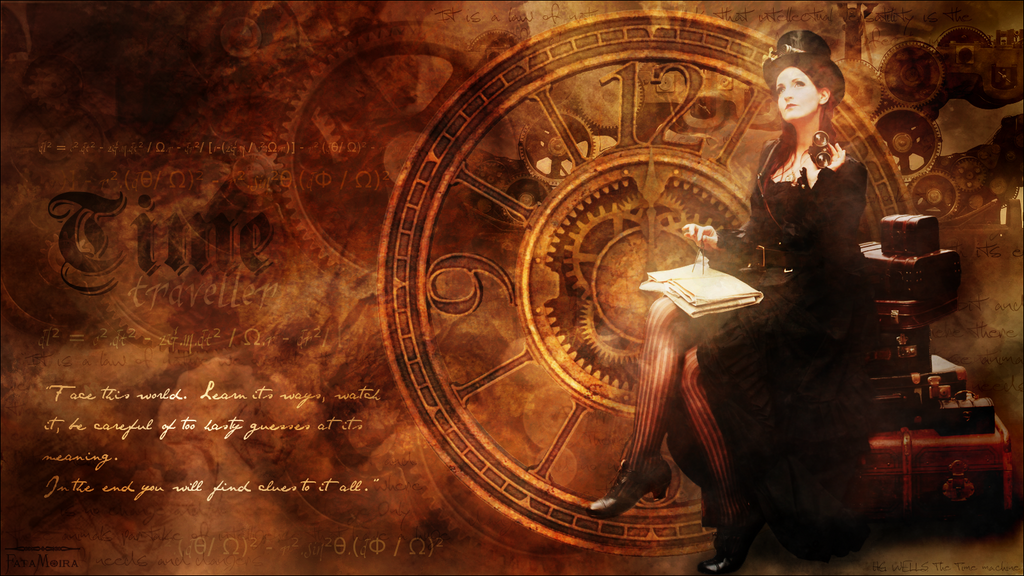 The Time traveller by FataMoira