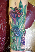 3D Poison Frog Tattoo by NickDAngeloTattoos