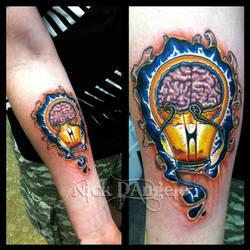 Glowing Tattoo by NickDAngeloTattoos