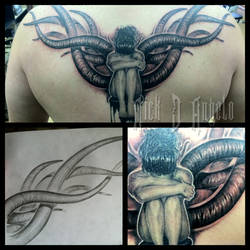 Dark Angel Tattoo by NickDAngeloTattoos