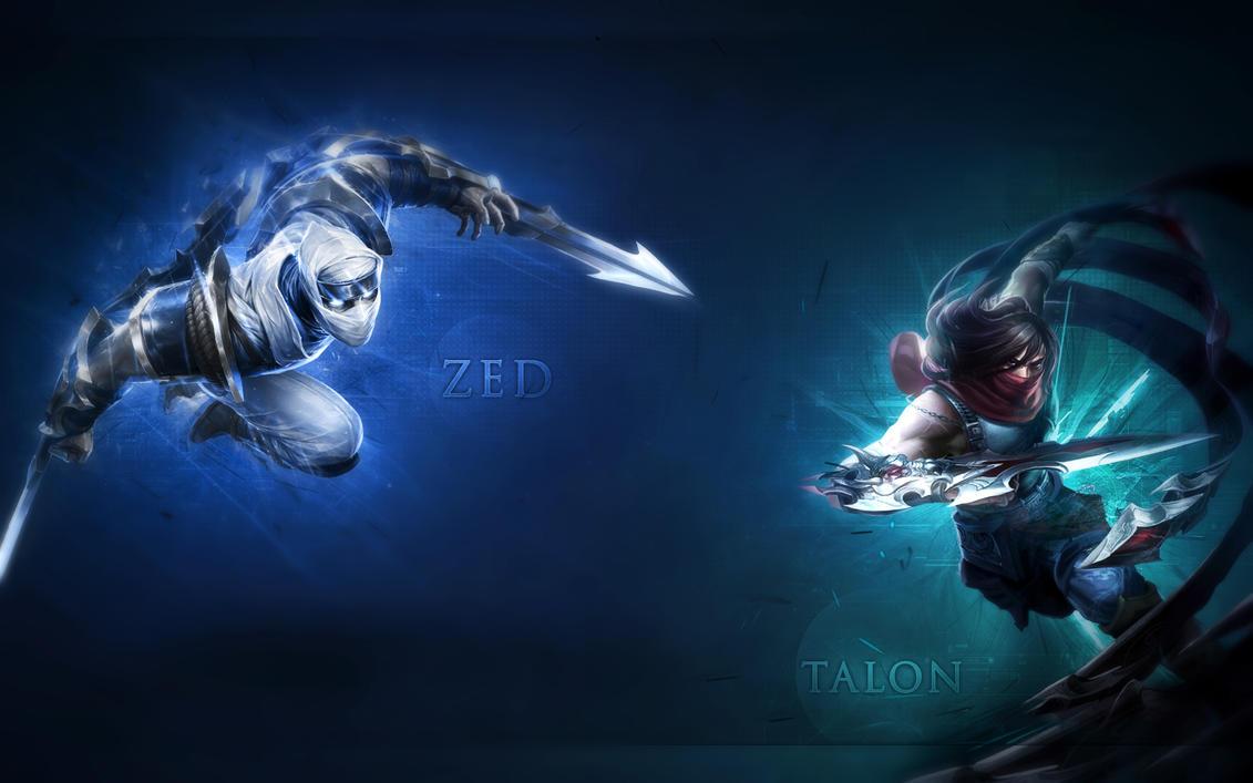 Zed and Talon by N-3-k-Y