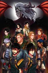 Dragon Age 2. by mangOKappu