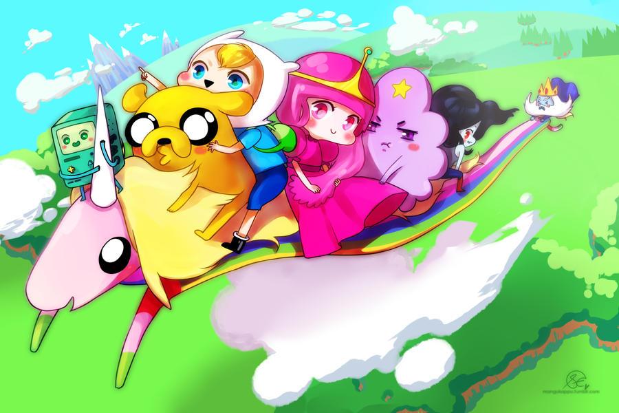 adventure time! by mangOKappu