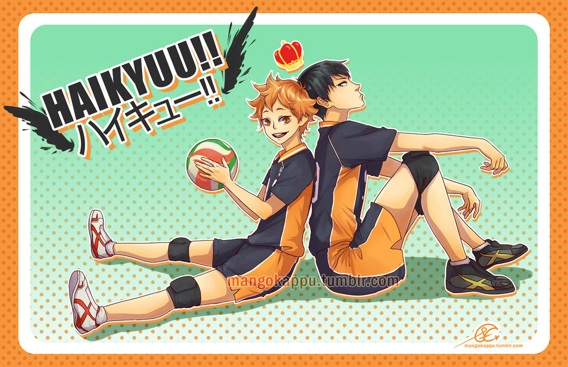 Haikyuu!! - my two fav babs by mangOKappu