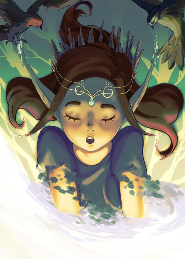 (ORIGINAL) Queen of the Forest by mangOKappu