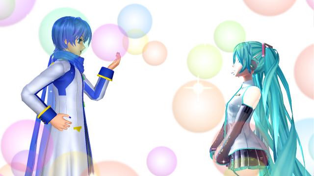 Mmd Hatsune Miku X Kaito 2 By Fangirlotaku7 On Deviantart