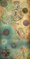 Guild Wars Antique Map