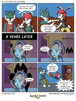 Lunacy Games Comic: 1st let's draw by Lunacy-Games