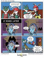 Lunacy Games Comic: 1st let's draw by Lunacy-Games