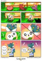 Lunacy Games Comic 2 Lovebirds by Lunacy-Games