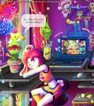 Go Team Everyone! Lunacy Games Comic by Lunacy-Games