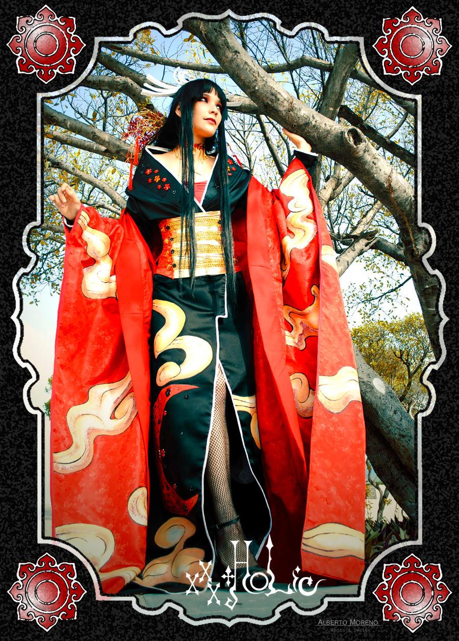 xxx holic yuuko by shalafidalamar21